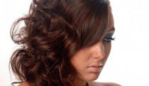 Nia Griffiths Hair - Natural Styling